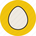 chicken, egg, food, kitchen icon