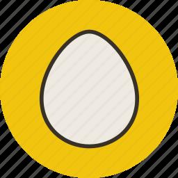 chicken, egg, food, kitchen icon