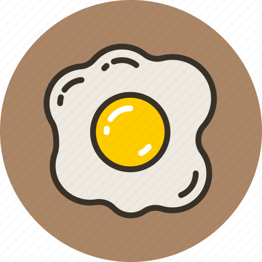 egg, food, omelet, omelette, scrambled icon