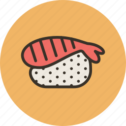 food, japanese, seafood, shrimp icon