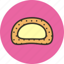 bread, burger, butter, food, sandwich icon