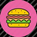 burger, fast, fastfood, food