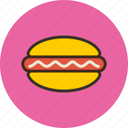 burger, dog, fast, fastfood, food, hot, hotdog icon