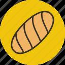 baking, bread, food, white