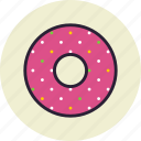 bagel, baking, donut, donuts, food icon