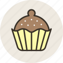baking, brownie, cake, cupcake, food, sweet icon