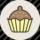 baking, food, sweet, brownie, cupcake, cake