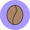 coffee, drink, food, grains icon
