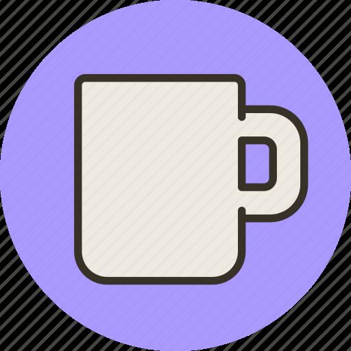 cup, empty, kitchen, mug, tableware icon