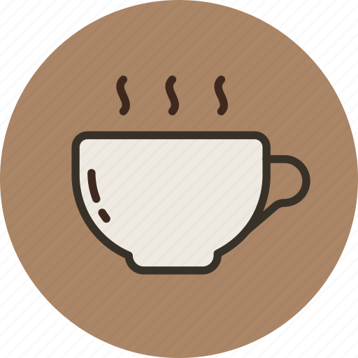 coffe, cup, hot, kitchen, tableware, tea, water icon