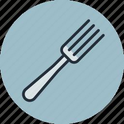 cutlery, fork, kitchen, tableware icon
