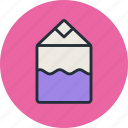 carton, cream, kefir, milk, pack, yogurt icon