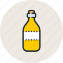 alcohol, bottle, drink, food, oil, olive, wine icon