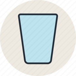 drink, food, glass, plastic icon