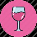 drink, food, glass, goblet, wineglass