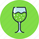 champagne, drink, food, glass, soda, sparkling, wineglass icon