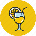 beach, cocktail, cola, drink, food, lemon, soda icon