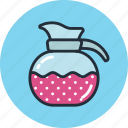 brewing, coffe, milk, tea, teapot icon