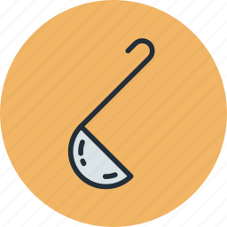 kitchen, ladle, soup, spoon icon
