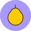 citrus, food, fruit, pomelo icon