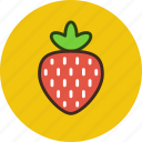 berry, food, strawberry, fruit, sweet icon