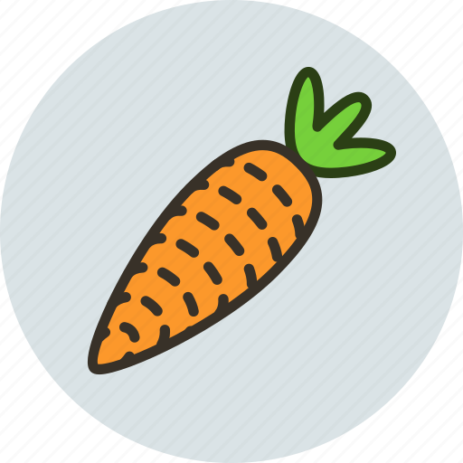carrot, food, kitchen, vegetable icon