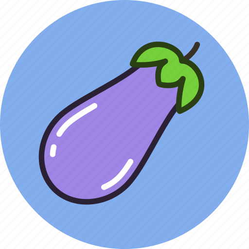 eggplant, food, kitchen, vegetable icon