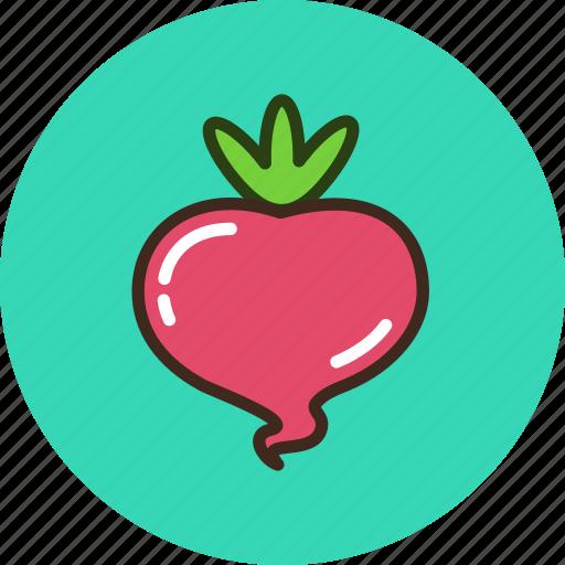 food, radish, turnip, vegetable icon