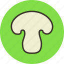 champignon, food, mushroom, vegetable icon