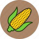 corn, food, kitchen, vegetable icon