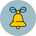 bell, christmas, decoration, ding icon