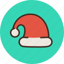 claus, frost, grandfather, hat, santa