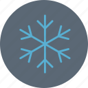 cold, cool, frost, snowflake, winter icon