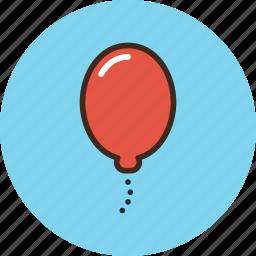 baloon, birthday, celebration, celebrations, congratulations, helios, holiday icon