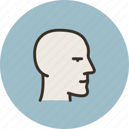 account, face, head, mental, mind, user icon