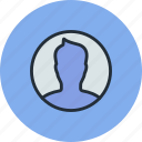 avatar, boy, man, profile, round, user icon