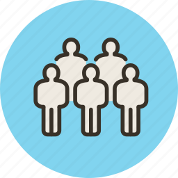 collective, company, group, masses, people icon