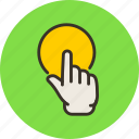 click, finger, hand, point, pointing, touch