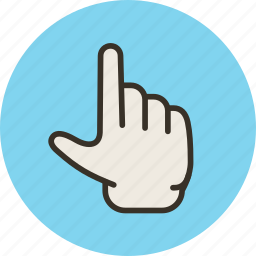 finger, gesture, magnify, pinch, touch, zoom icon