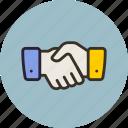 associate, hand, handshake, partner