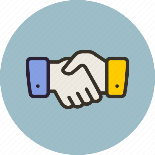 associate, hand, handshake, partner icon