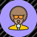 afro, artist, disco, performer, singer, vocalist