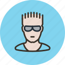 athlete, duke nukem, extremal, glasses, guy, sportsman icon
