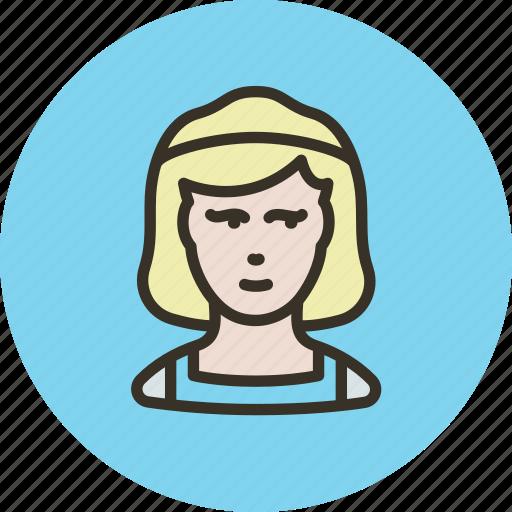 avatar, charwoman, clean, housekeeper, human, woman icon