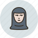avatar, human, nun, sister icon