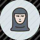 avatar, human, nun, sister icon