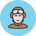 avatar, driver, human, pilot, soldier, tanker icon