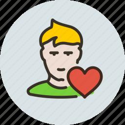 favorite, friend, friends, human, list, love, user icon