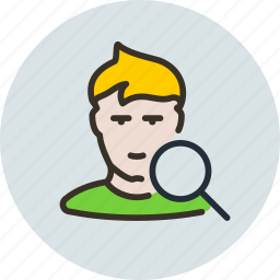 employee, human, search, user, vacansy icon