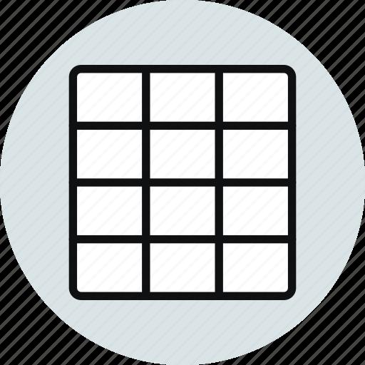 blocks, column, grid, layout, workspace icon